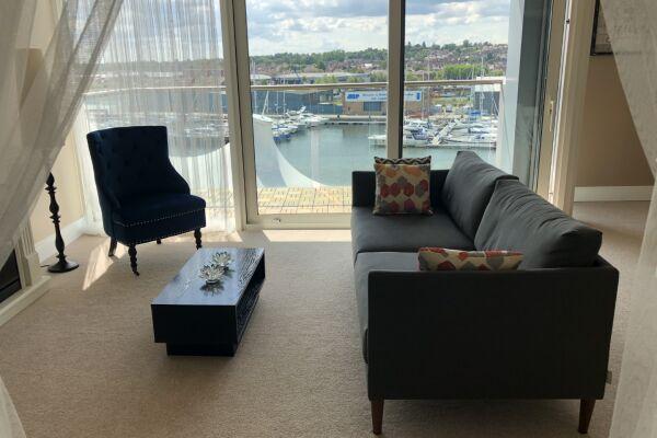 5th Floor Views over the marina