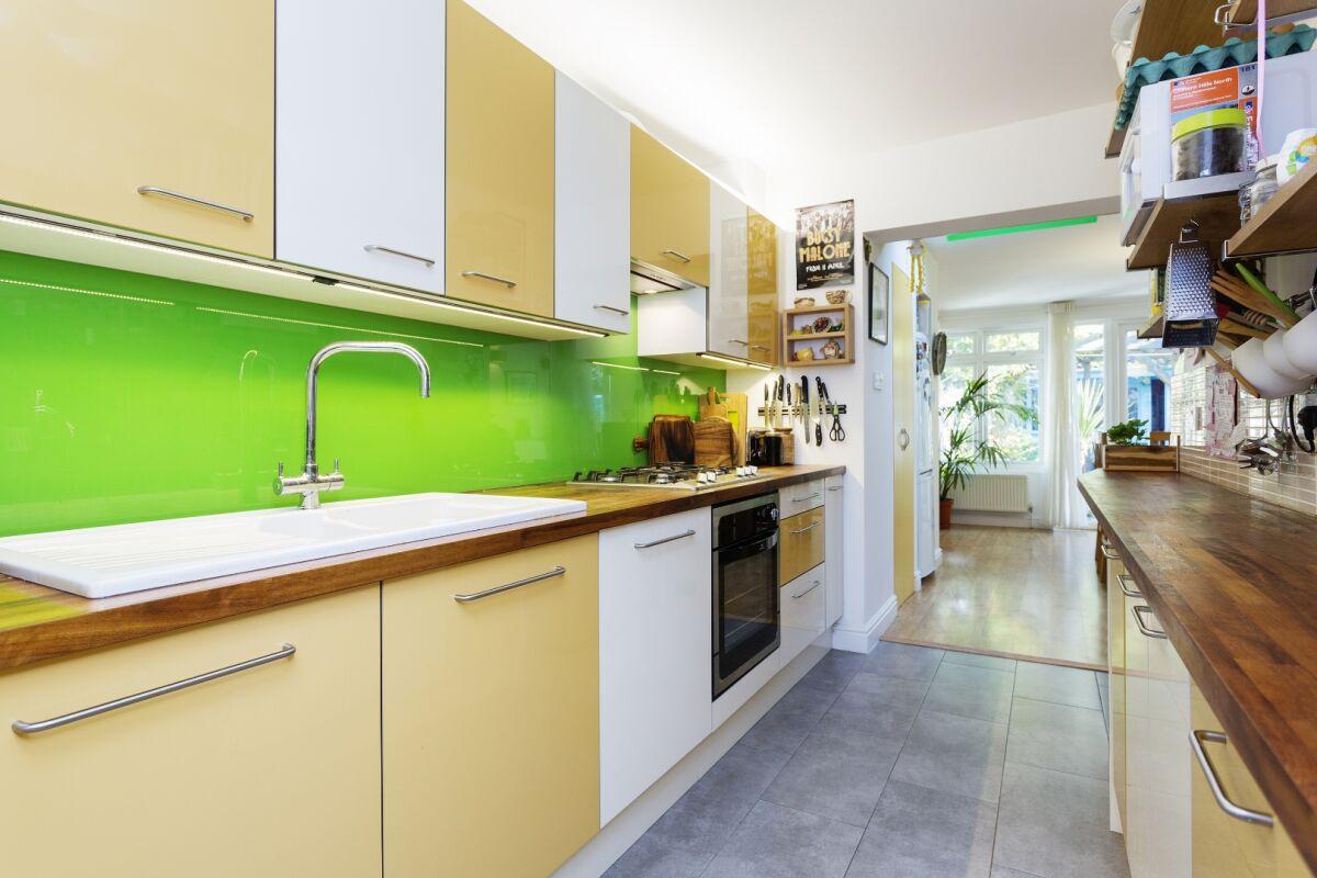 Kitchen, Torbay Road Serviced Apartments, Kilburn, London