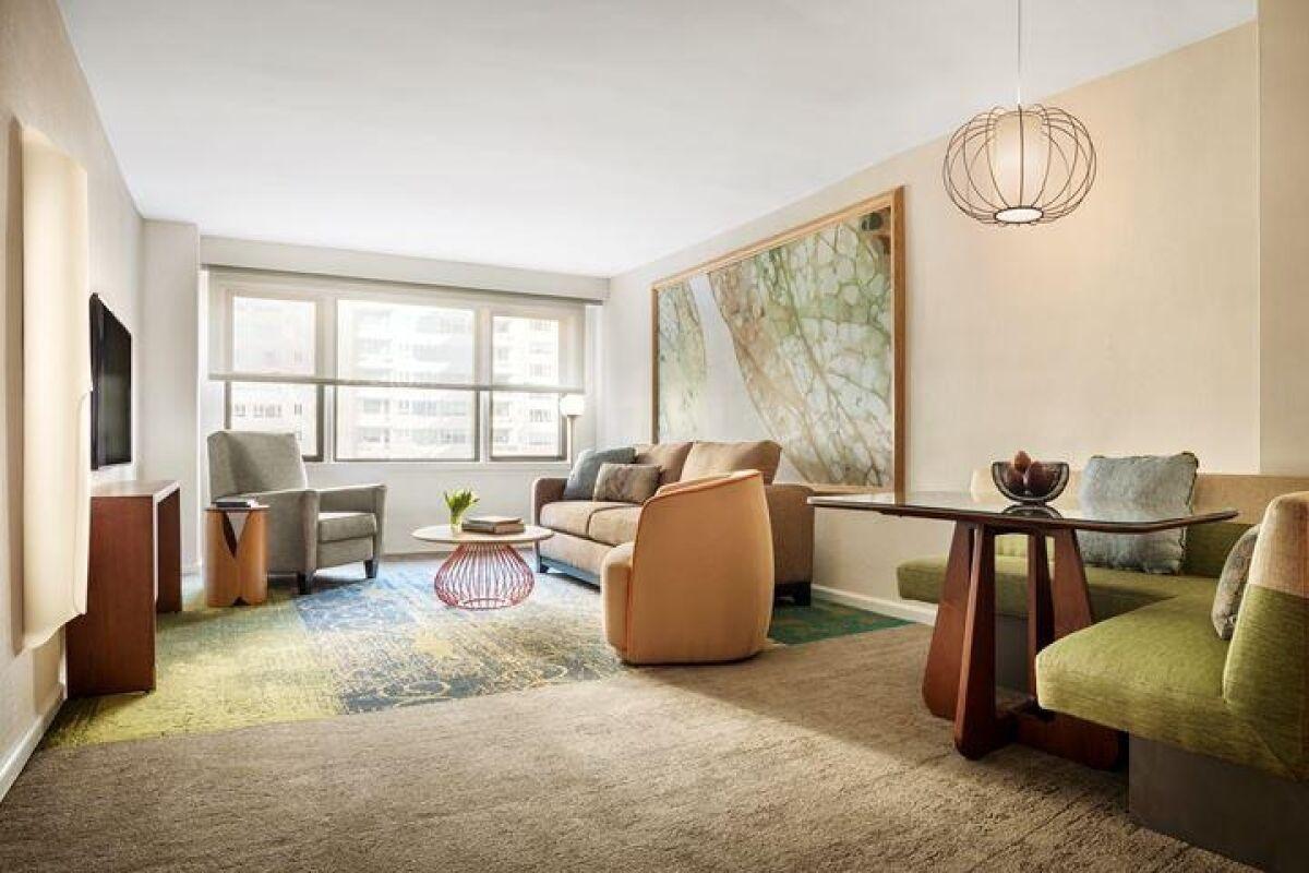 One Bedroom Suite, Living Room