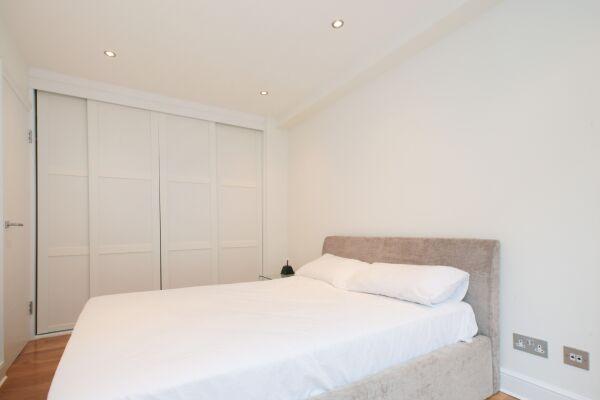 Bedroom, Sloane Avenue Serviced Apartments, South Kensington, London