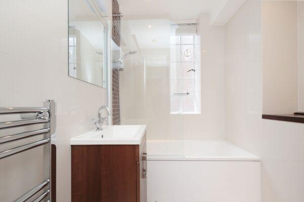 Bathroom, Sloane Avenue Serviced Apartments, South Kensington, London