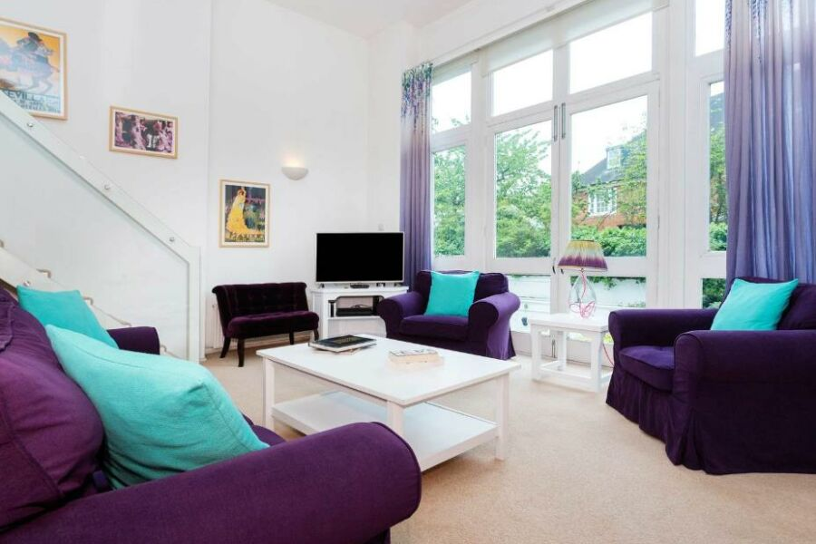 Belsize Park Gardens Apartment - Belsize Park, North London