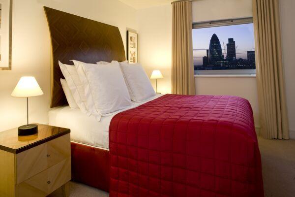 Bedroom, Commercial Road Serviced Apartments, Aldgate