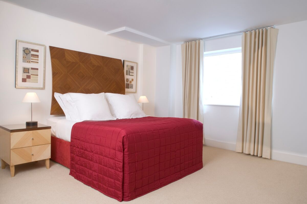 Bedroom, Queen Street Serviced Apartments, Blackfriars
