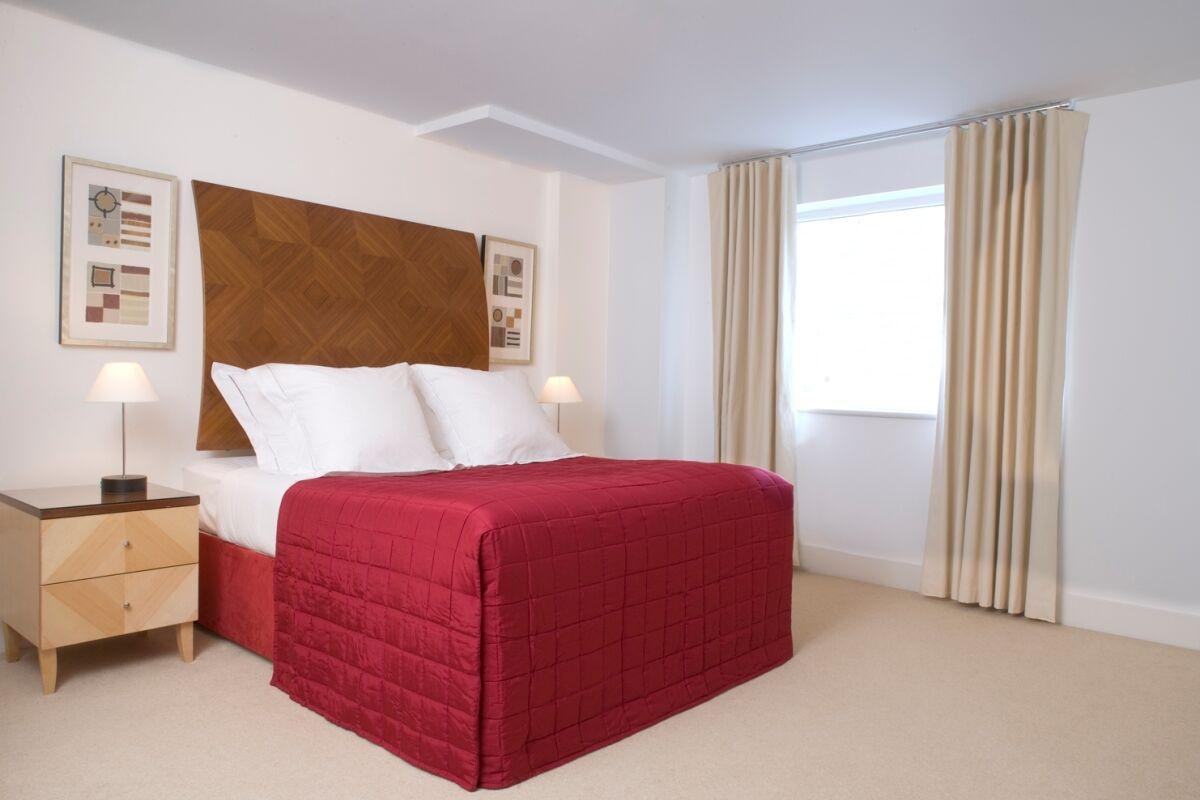 Bedroom, Queen Street Serviced Apartments, Blackfriars