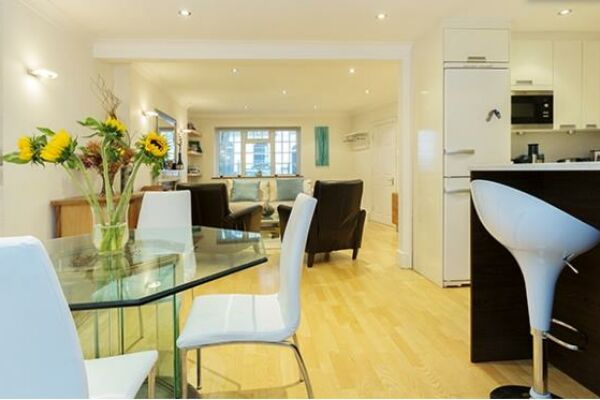 Kitchen, Huntingdon Street Serviced Apartments, Barnsbury, London