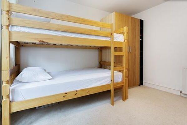 Bunk Bedroom, Huntingdon Street Serviced Apartments, Barnsbury, London