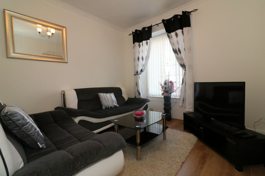 Clark House Accommodation - Airdrie, North Lanarkshire
