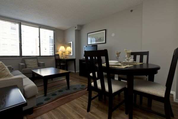 Dining Area, Bank Street Serviced Apartments, New York
