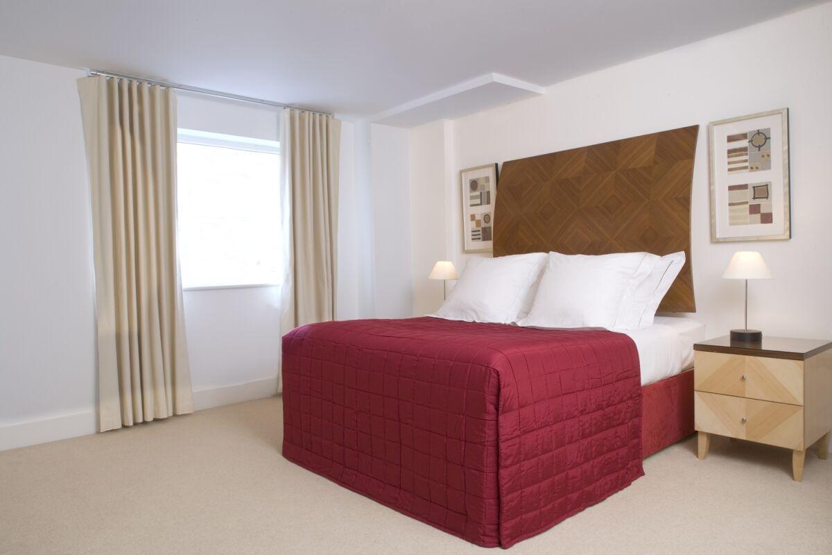 Bedroom, Bellhaven Serviced Apartments, Stratford