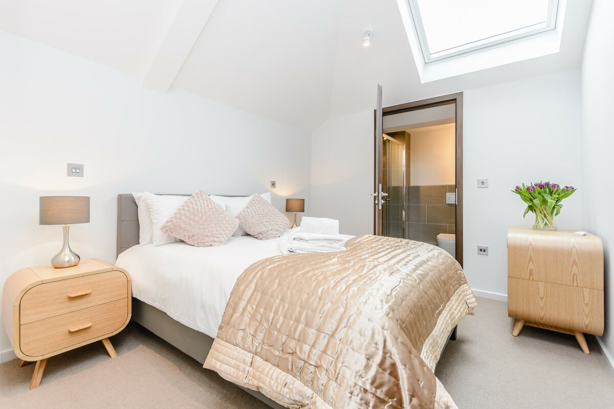 Bedroom, Ibis House Serviced Apartments, Richmond, London