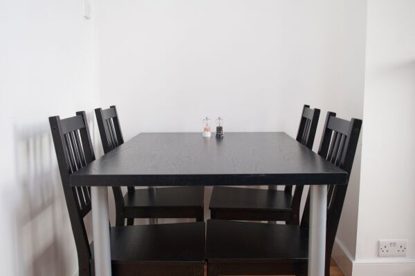 Dining area, The Worcester Apartment