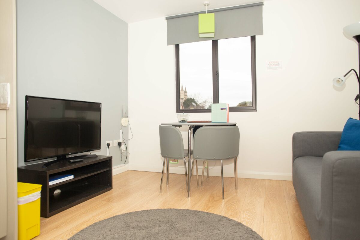 Lounge, Quire Court Serviced Apartments, Gloucester