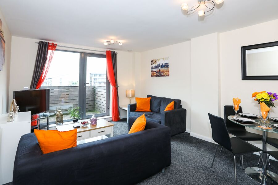 Skyline City Centre Apartment - Birmingham, United Kingdom