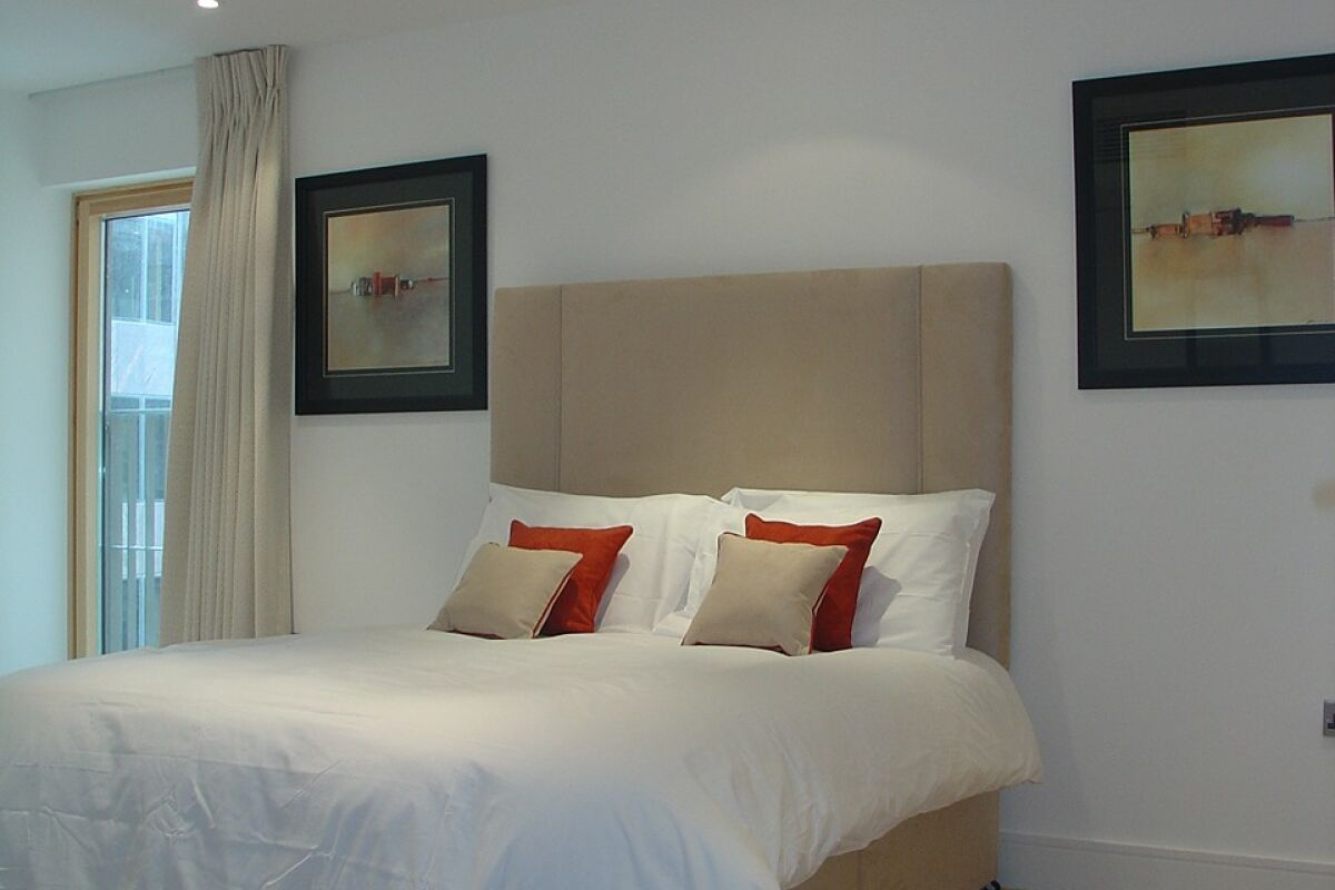 Bedroom, New Palace Place Serviced Apartments, Westminster, London