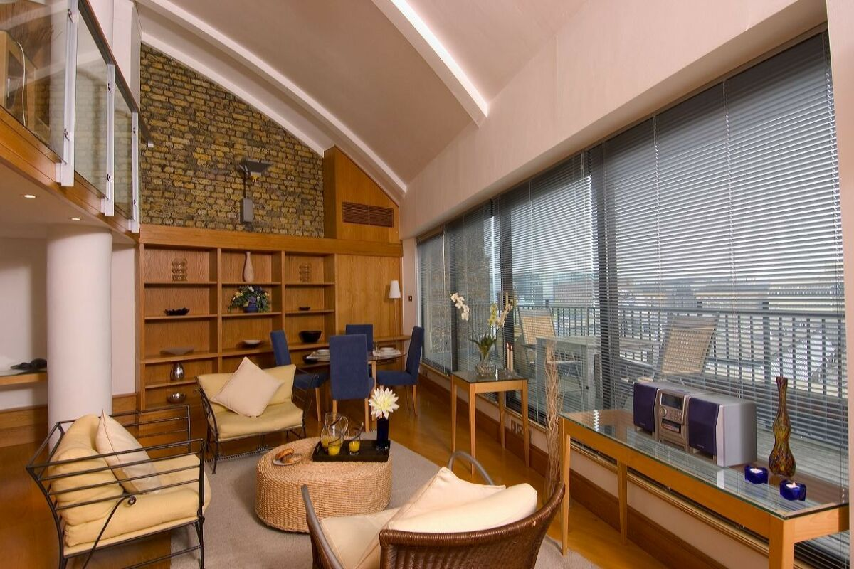 Lounge, Monument Street Serviced Apartments, The City of London