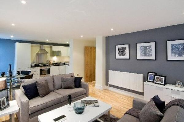Lounge, Lanterns Court Serviced Apartments, Canary Wharf, London