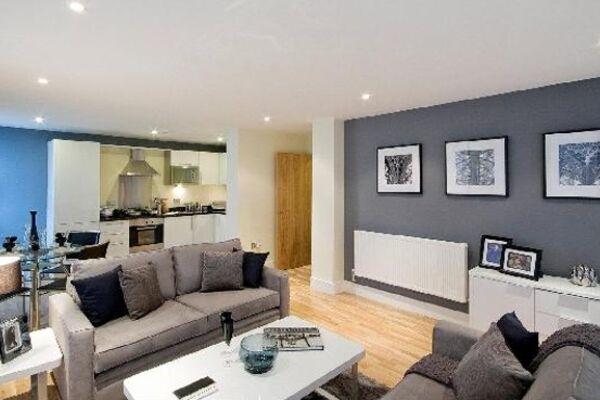 Lounge, Lanterns Court Serviced Apartments, Canary Wharf, London