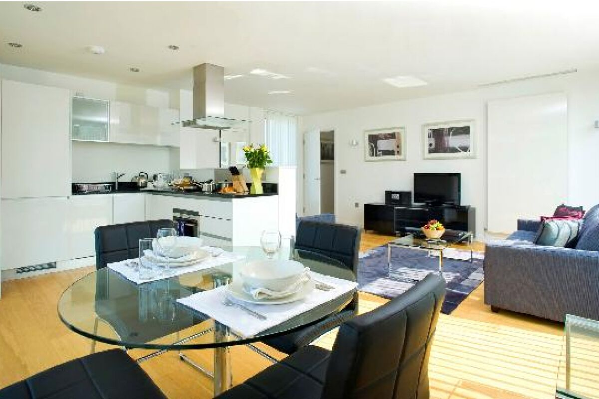 Lounge, Farringdon Serviced Apartments, Clerkenwell, The City of London