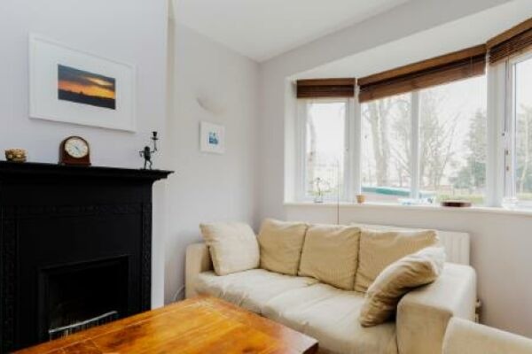 Living Room, Birght Putney Serviced Apartments, Putney, London