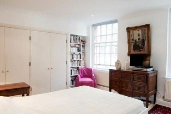 Bedroom, Gilliingham Street Serviced Apartments, Chelsea, London