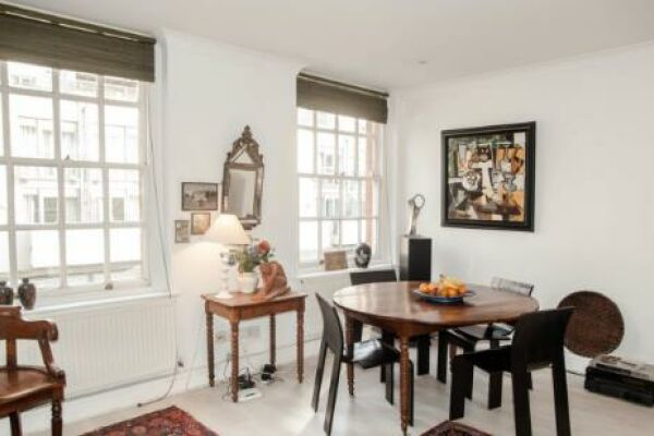 Dining Area, Gilliingham Street Serviced Apartments, Chelsea, London