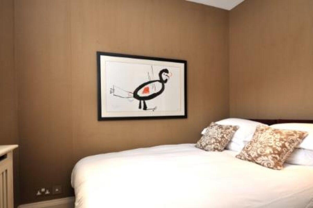 Bedroom, First Street Serviced Apartments, Knightsbridge, London