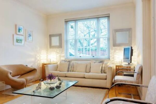 Living Room, Dovehouse Street Serviced Apartments, Chelsea, London