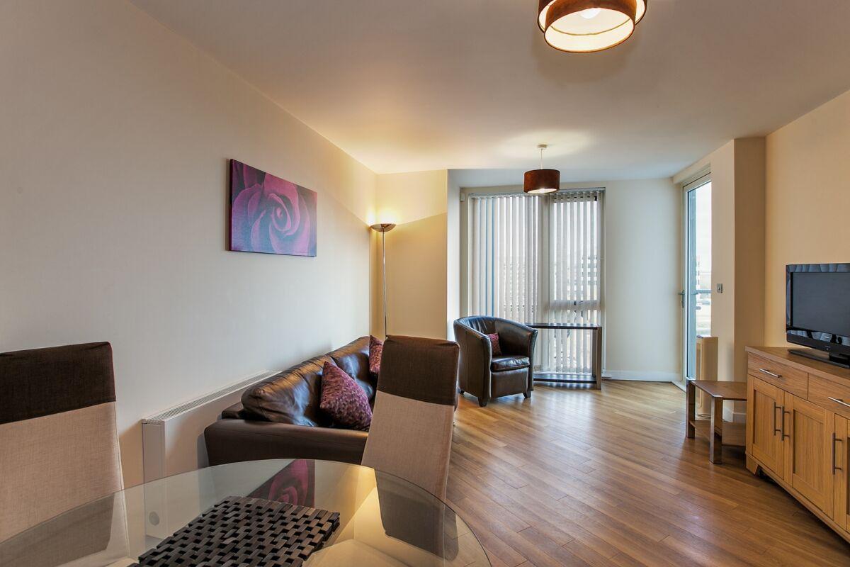 Living Room, The Hub Serviced Apartments, Milton Keynes