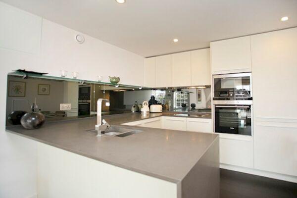 Kitchen, Modern Edwardian Serviced Apartment, London