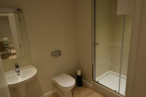 Shower Room, Princes Street Serviced Apartment, Ipswich