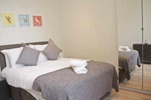 Bedroom, Cambridge Gardens Serviced Apartments, Ladbroke Grove, London