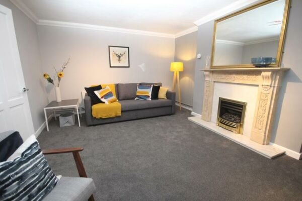 Living Area, The Garden Serviced Apartment, Leamington Spa