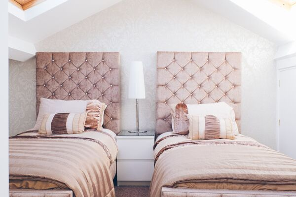 Twin Bedroom, Church Street Serviced Apartments, Halifax