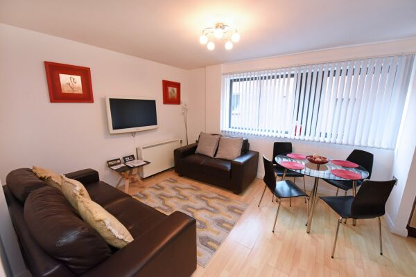 Sitting Area/Lounge, City Centre Apartments (D), Manchester