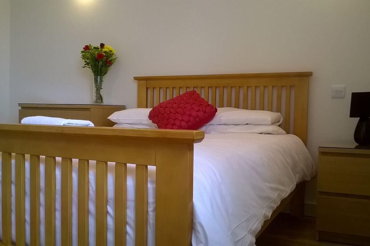 Bedroom, Market Place Serviced Apartments, Horsham