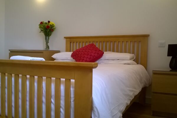 Bedroom, Market Place Serviced Apartments, Horsham