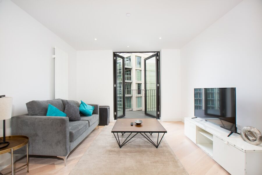 Lavish Apartment - Royal Docks, East London
