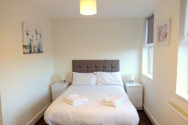 master bedroom central Twickenham serviced apartments London