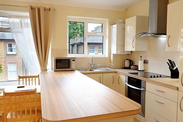 Kitchen, Lichfield Gardens Apartment, Richmond