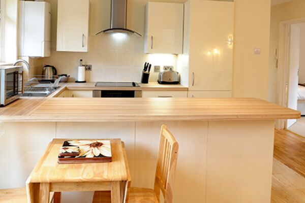 Dining Area, Lichfield Gardens Apartment, Richmond