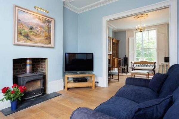 Living Room, Englefield Road Serviced Apartments, Islington, London