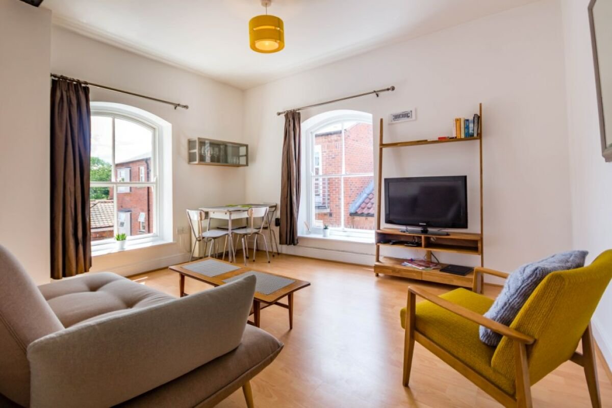 Living Room, Woodsmill Quay Serviced Apartments, York