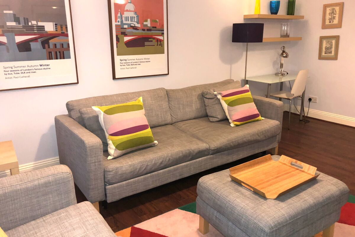 Superior Living Room, Octave House, Serviced Apartments, Monument