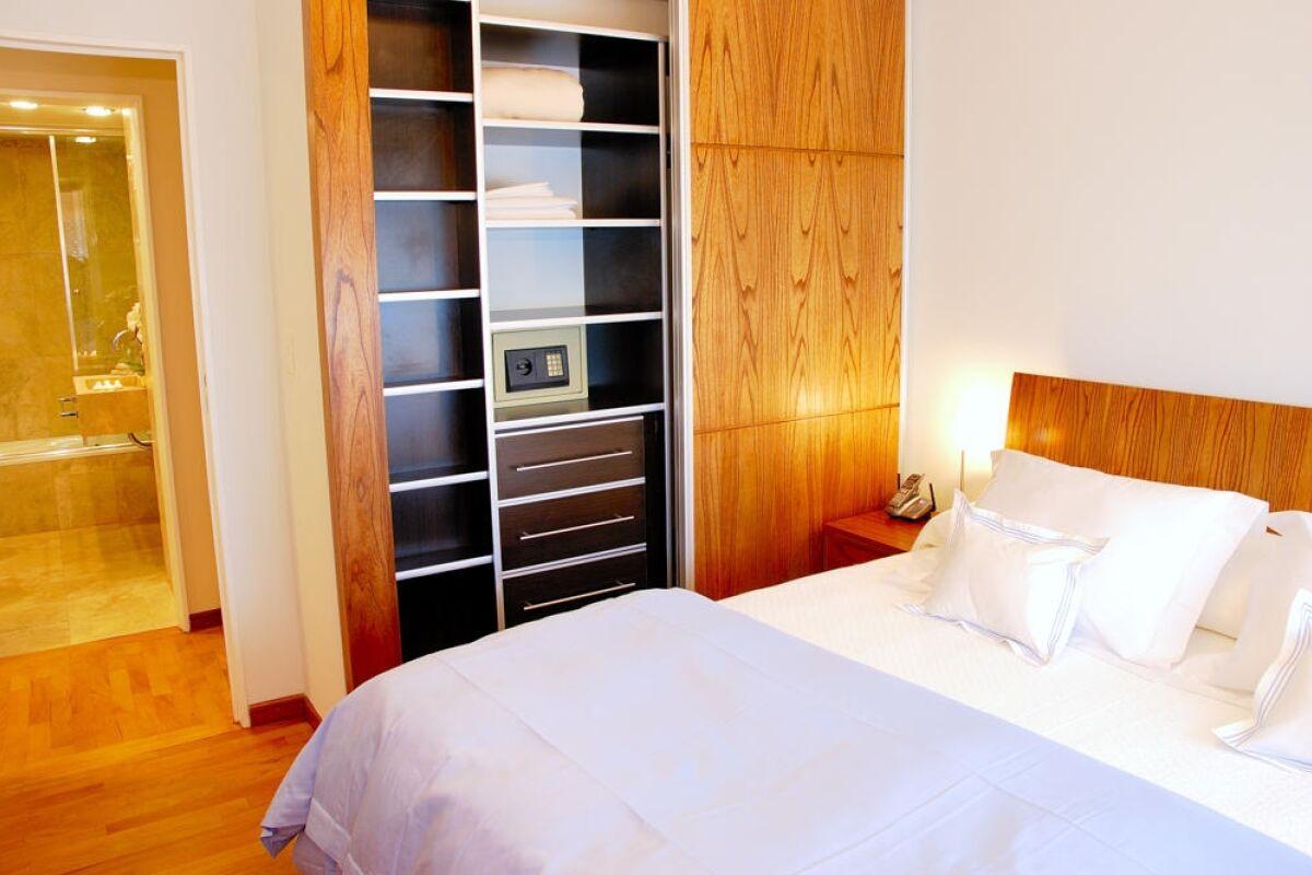Bedroom, Ecuador Serviced Apartment, Buenos Aires