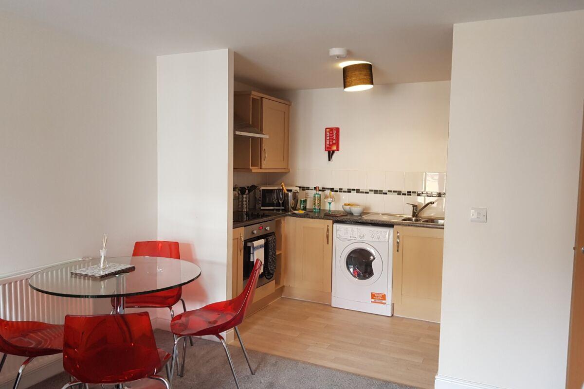 Kitchen, first floor apartment