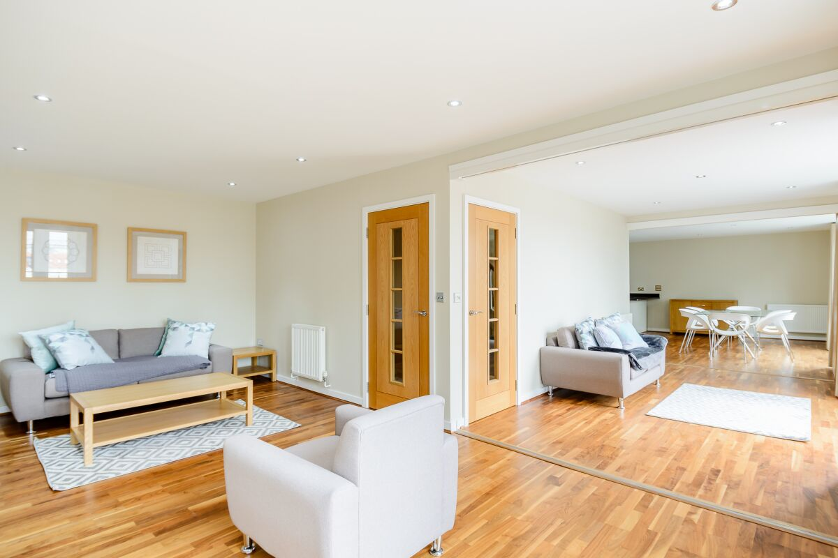 Living Area, Stamford Street Serviced Apartments, Lambeth