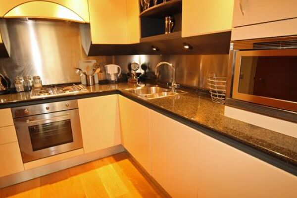 Kitchen, Canary Riverside Serviced Apartments, Canary Wharf, London