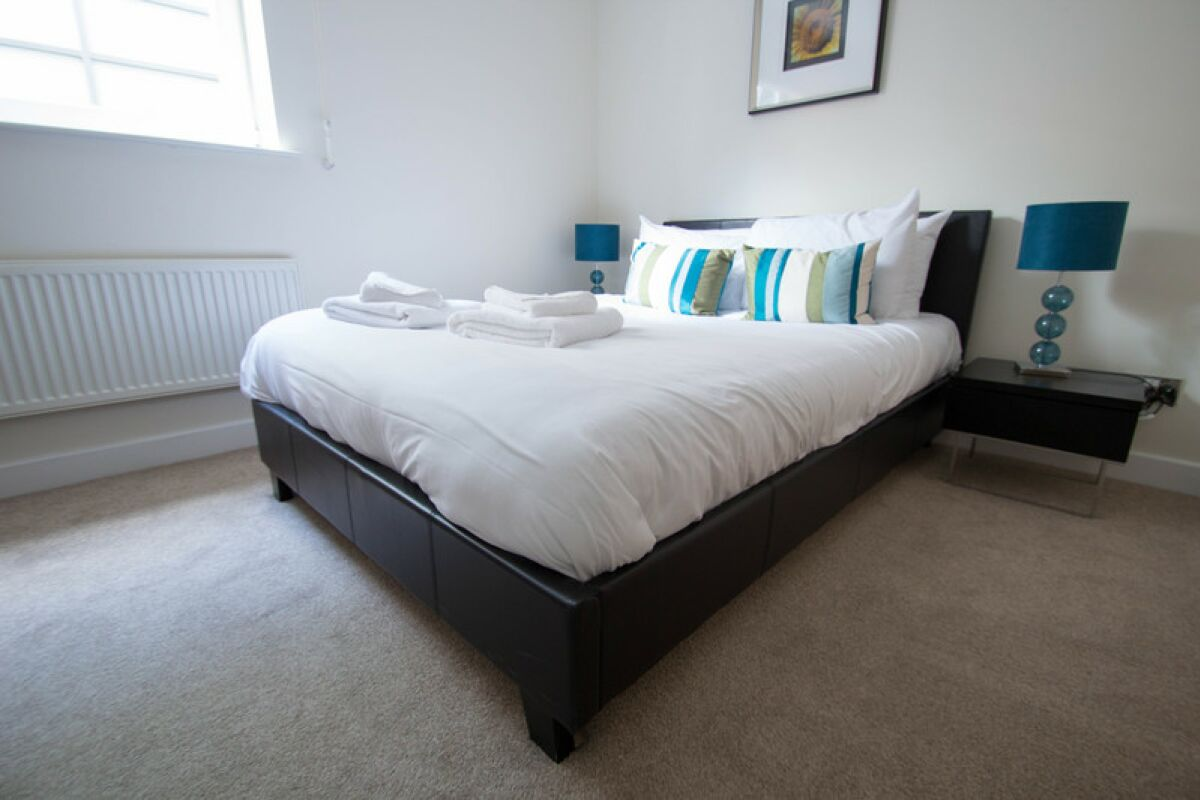 Bedroom, Globe View Serviced Apartments, The City of London
