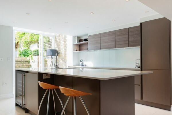 Kitchen, Offord Road Serviced Apartments, Islington, London